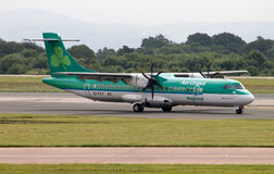Aer Lingus ATR-72 régional Photo stock