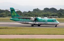 Aer Lingus ATR-72 regional Foto de archivo