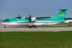 Aer Lingus automatische Rückstellung 72-600 Stockfotografie