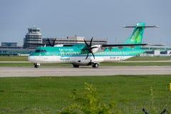 Aer Lingus automatische Rückstellung 72-600 Lizenzfreies Stockfoto