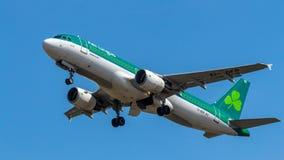 Aer Lingus flygbuss A320 fotografering för bildbyråer