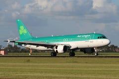Aer Lingus flygbuss A320 Royaltyfri Bild