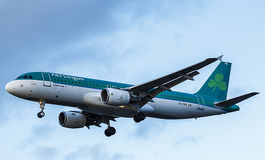 Aer Lingus Passenger Aircraft. Airbus A320 Royalty Free Stock Photos