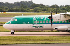 Aer Lingus Regional ATR-72 Royalty Free Stock Photography