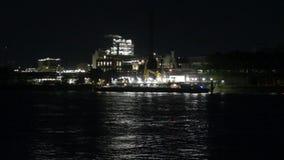 Aera industrial na noite vídeos de arquivo