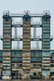 Aera Pekín China de la zona de Art District del diseño industrial 798 Imágenes de archivo libres de regalías