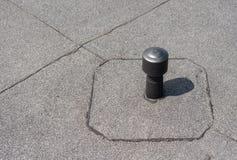 Aerador - ventilación del tejado plano Fotografía de archivo libre de regalías