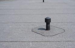 Aerador - ventilación del tejado plano Imagenes de archivo