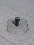 Aerador - ventilación del tejado plano Foto de archivo