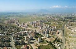 Aeralansicht über Kayseri-Stadt in Cappadocia, die Türkei Stockfoto