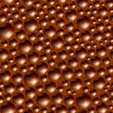 Aerated porous black chocolate. Stock Photos