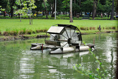 Aeratore dell'acqua. Fotografie Stock Libere da Diritti