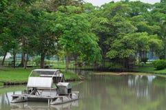 Aeratoren för skovelhjul i trädgården Royaltyfri Bild