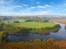 Aereal Ansicht der Landschaft Lizenzfreie Stockfotos