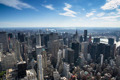 Aereal view of new york city Stock Photo