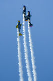 Aerei acrobatici Immagine Stock