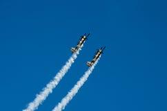 Aerei acrobatici Fotografia Stock