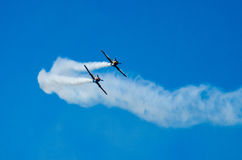 Aerei acrobatici Fotografie Stock