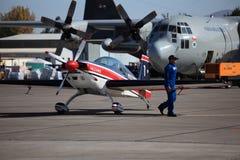 300 aerei acrobatici extra Immagine Stock
