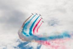 Aerei acrobatici L-39 Fotografie Stock Libere da Diritti