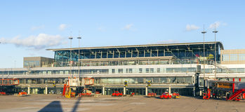 Aerei a Amburgo al terminale 2 Fotografia Stock