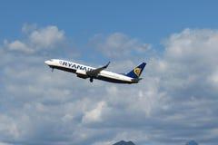 Aerei Boeing 737-800 di Ryanair Fotografie Stock