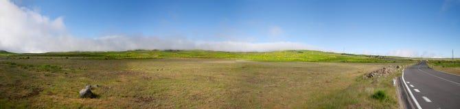 Aerei dell'altopiano nell'isola centrale del Madera Fotografia Stock