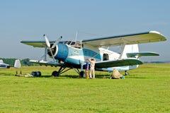 Aerei di Antonov An-2 Immagine Stock Libera da Diritti