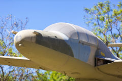 Aerei di attacco al suolo di Pucara dell'aeronautica Immagine Stock