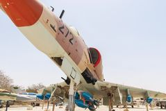 Aerei di attacco di Douglas Skyhawk A-4H Fotografie Stock