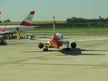 Aerei di Austrian Airlines Fotografia Stock