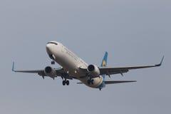 Aerei di Boeing 737-900ER Fotografia Stock