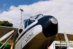 Aerei di de Havilland DH89 Dragon Rapide durante lo show aereo Immagine Stock