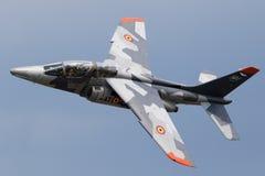 Aerei di istruttore militari di Alpha Jet Fotografie Stock