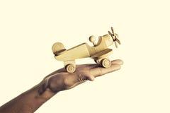 Aerei di legno Immagine Stock Libera da Diritti