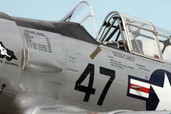 Aerei di SNJ-5B Harvard Warbird Fotografie Stock