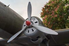 Aerei di trasporto del motore della seconda guerra mondiale Fotografia Stock Libera da Diritti
