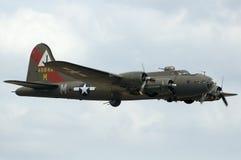 Aerei di WWII al airshow di Duxford Fotografia Stock Libera da Diritti