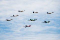 Aerei giapponesi di guerra Fotografia Stock