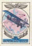 Aerei sovietici ANT-3 Fotografia Stock Libera da Diritti