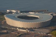 Aereial Ansicht des grünen Punkt-Stadions Lizenzfreie Stockbilder