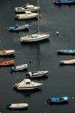 Aereial-Ansicht von Booten Stockfotografie