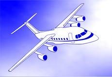 aereo Immagini Stock Libere da Diritti