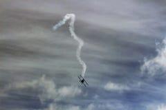 Aereo acrobatico della Bi Fotografia Stock Libera da Diritti