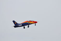 Aereo acrobatico di IAR-99 Soim a POLARIZZAZIONE 2015 Fotografie Stock Libere da Diritti