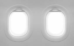 aereo in bianco della finestra 2 Fotografie Stock Libere da Diritti