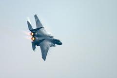 Aereo da caccia dell'aquila F15 Fotografia Stock Libera da Diritti