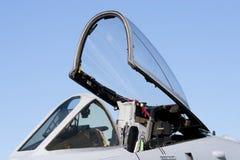 aereo da caccia della cabina di guida Immagini Stock