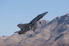 Aereo da caccia F-18 immagine stock