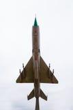 Aereo da caccia sovietico Immagini Stock